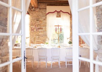Salle de Banquet - entree cour interieur